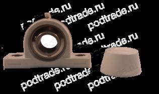 Подшипник Подшипниковые узлы в пластиковом корпусе (для пищевых производств) Подшипниковый узел MUCPPL 207 SB по выгодным ценам Боровичи